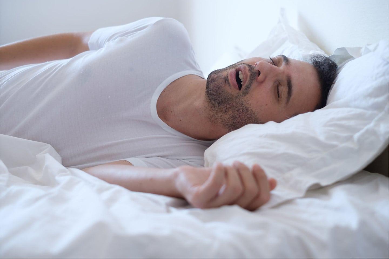 Man Snoring-01